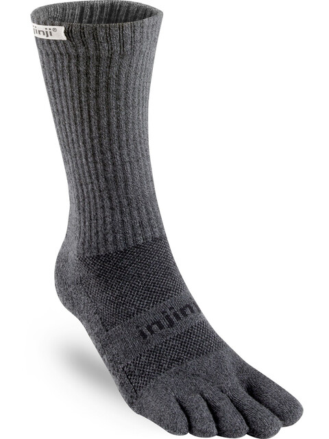 Injinji Trail Crew Xtralife Midweight Socks Men granite